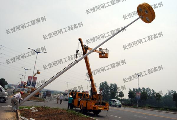 安徽黄山市路灯工程