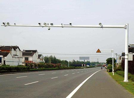 湖南省永州市电子警察杆工程