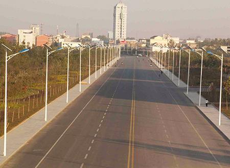 湖南省长沙市太阳能路灯工程