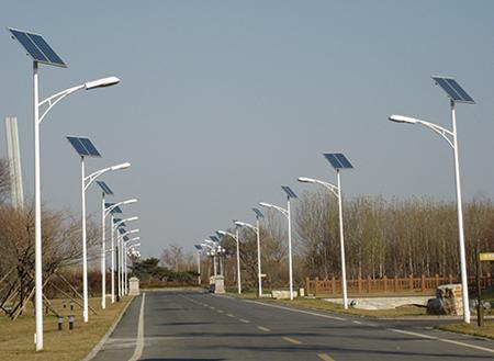 山东省济南市太阳能路灯工程