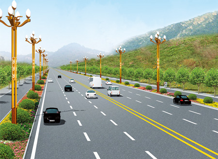 陕西省西安市政路灯工程