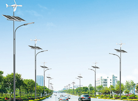 湖南省长沙市风光互补太阳能路灯工程